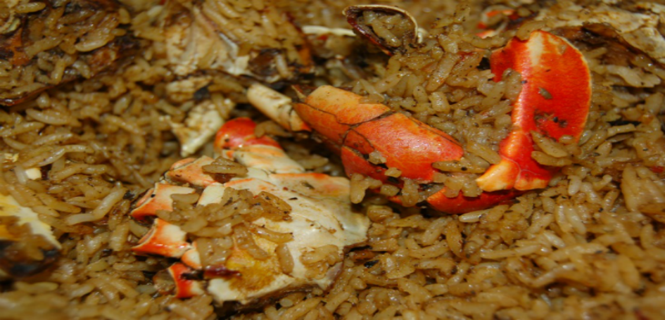 Bahamian Crab N Rice